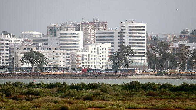 Paisaje frente de Huelva